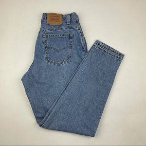 Vintage Levi's 551 High Waist wedgie fit Jeans